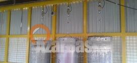 تجهیز سیستم توزین ایستگاه LPG شرکت اروم صانع