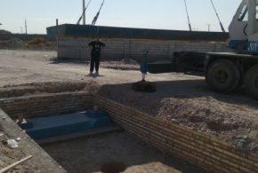نصب باسکول 50 تنی شرکت شایان آذربایجان